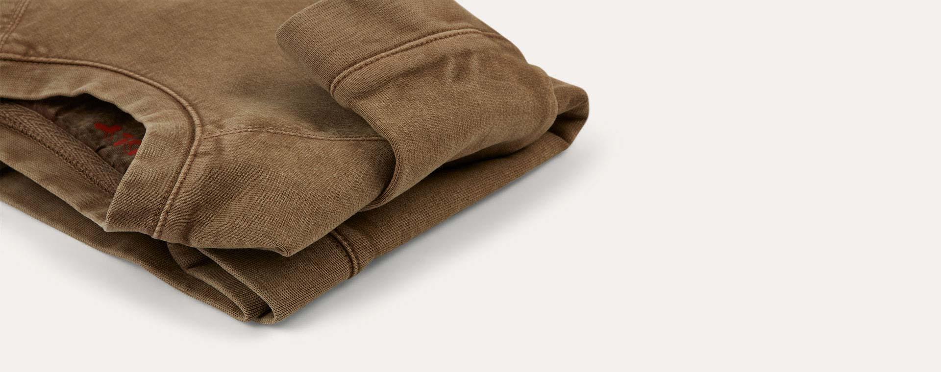 Brown KIDLY Label Sweatshirt