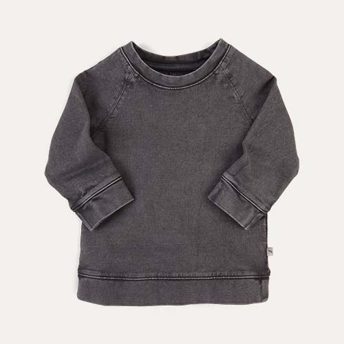 Grey KIDLY Label Sweatshirt