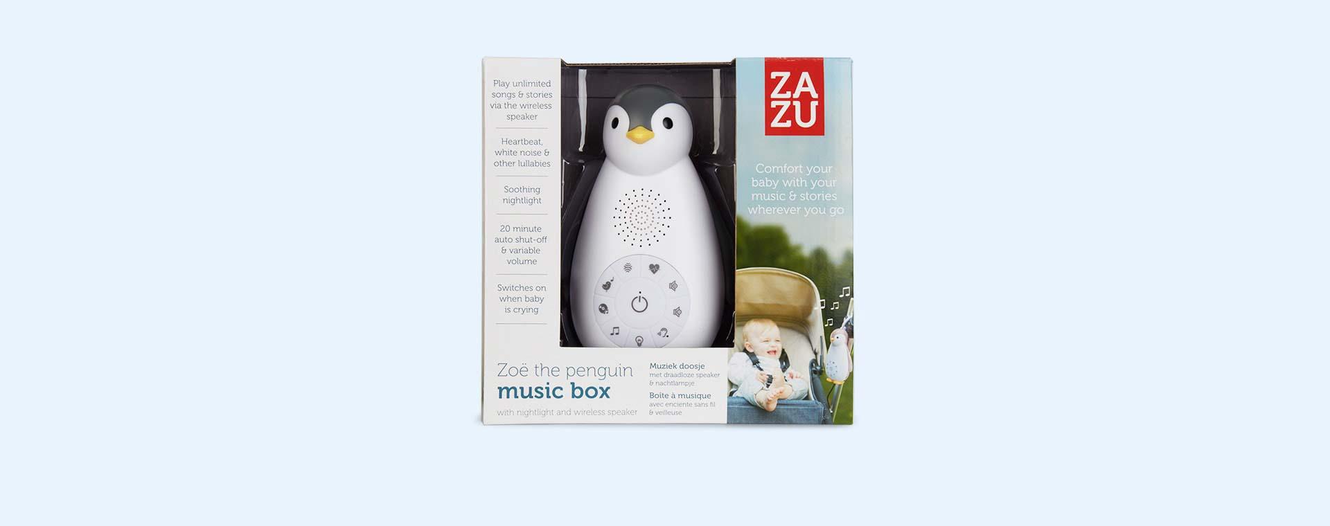 Grey Zazu Zoe the Penguin Music Box