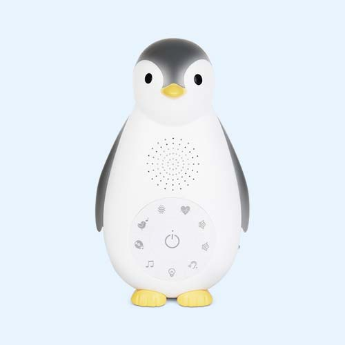 Grey Zazu Zoe the Penguin Music Box