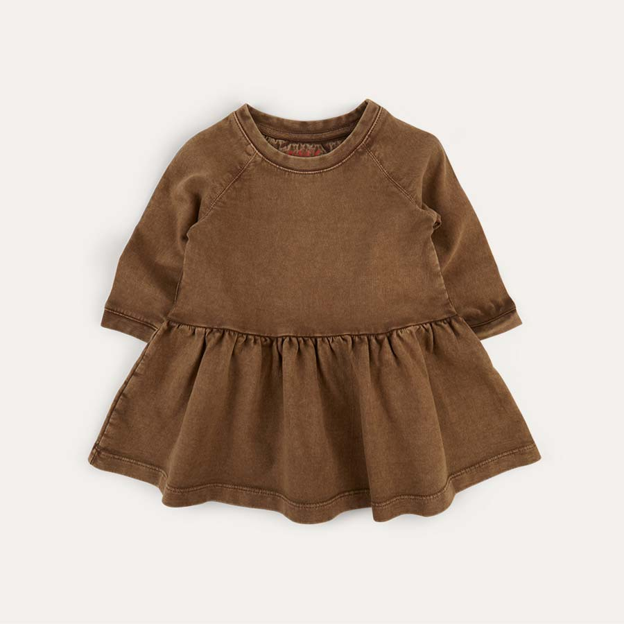 Brown KIDLY Label Dress