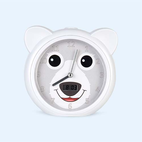 White Zazu Bobby the Bear Sleep Trainer