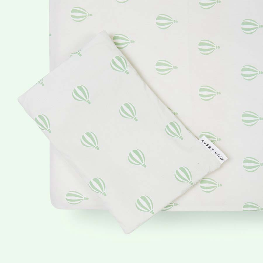 Balloons Avery Row Fitted Cot Bed Sheet