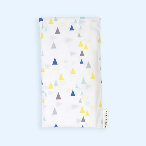 Triangles Avery Row Fitted Cot Bed Sheet