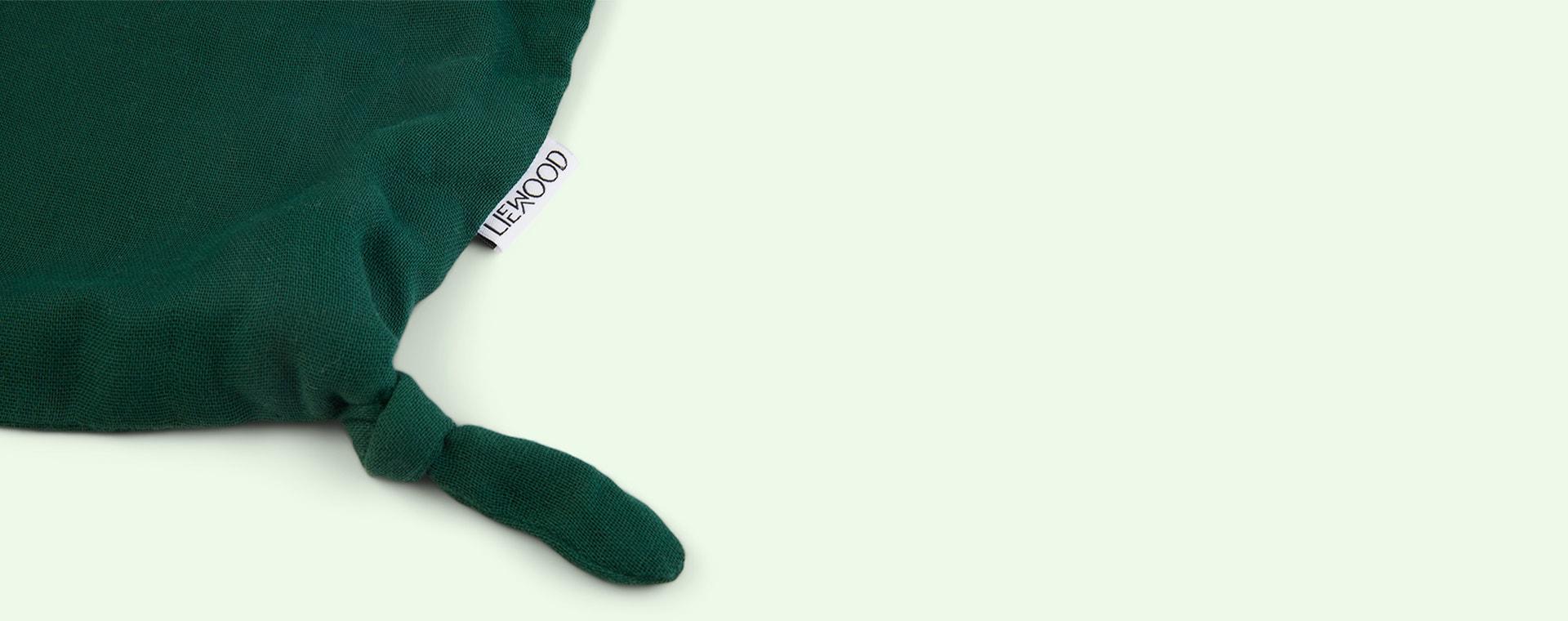 Crocodile Garden Green Liewood Agnete Cuddle Cloth