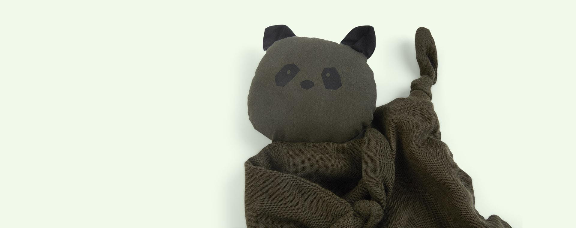 Panda Hunter Green Liewood Agnete Cuddle Cloth