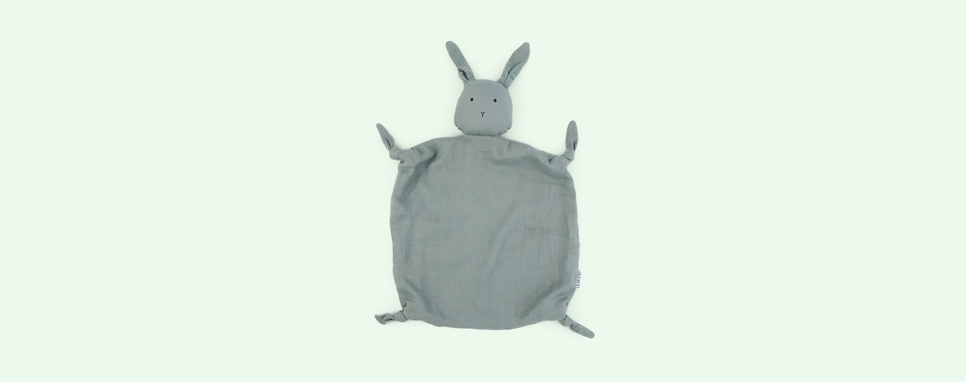 Rabbit peppermint Liewood Agnete Cuddle Cloth