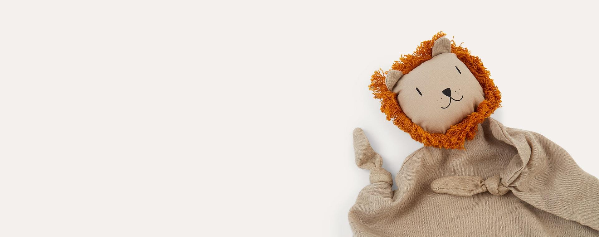 Lion Stone Beige Liewood Cuddle Teddy