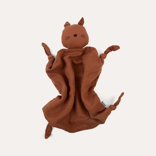 Terracotta Cat Liewood Agnete Cuddle Cloth