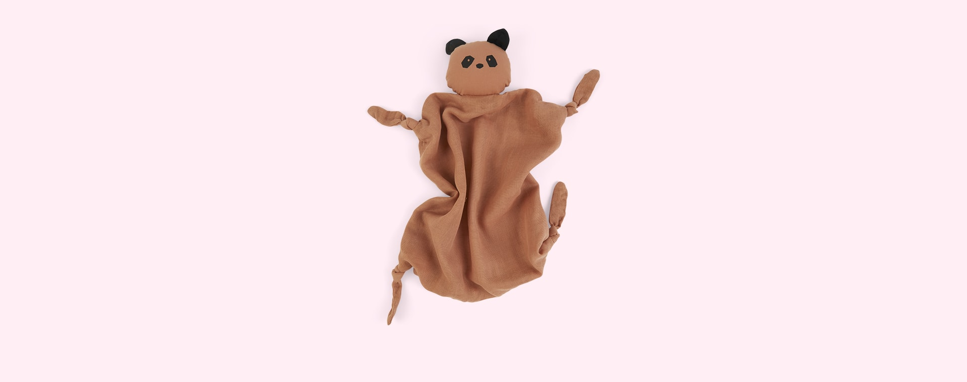 Panda/Tuscany Rose Liewood Agnete Cuddle Cloth