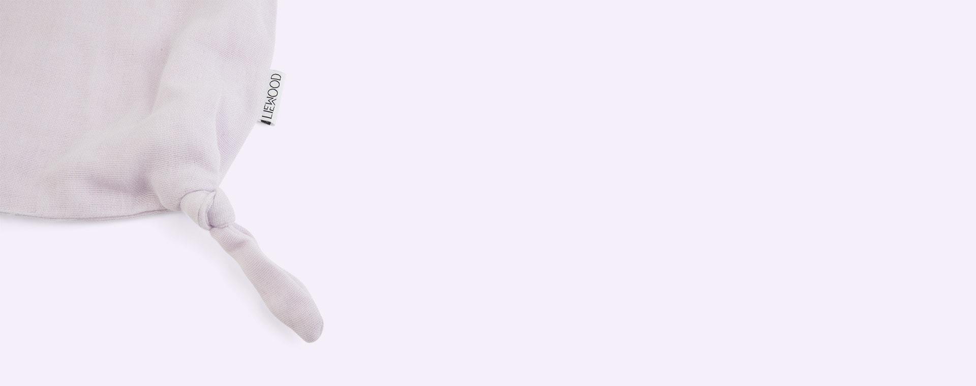 Cat Light Lavender Liewood Agnete Cuddle Cloth