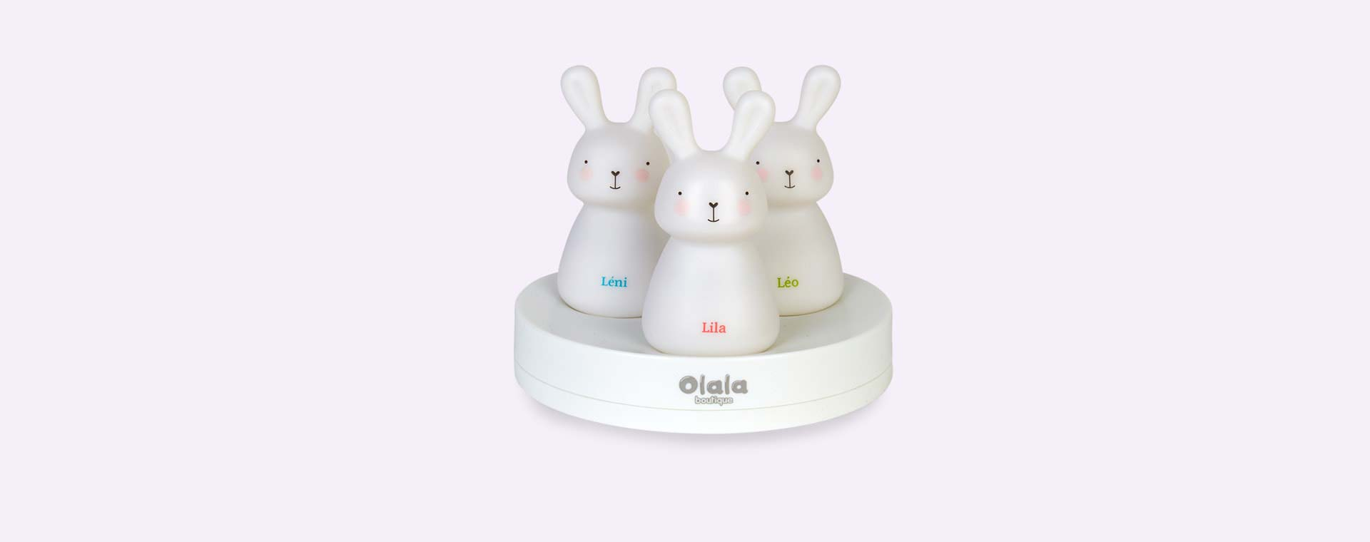 White Olala Boutique Night Lights