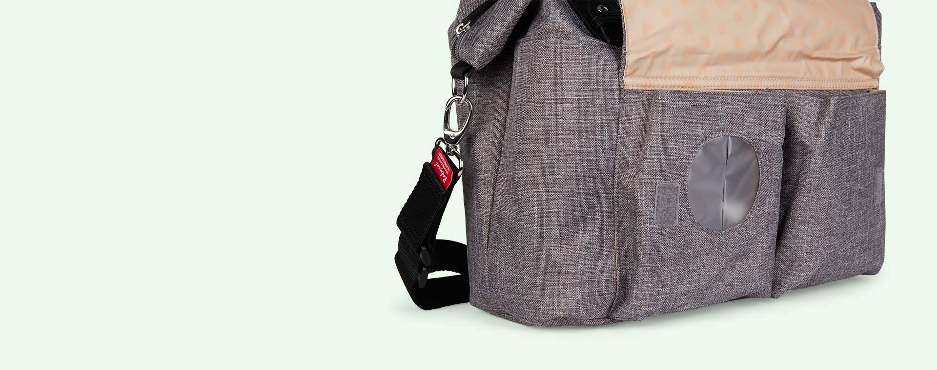 Grey Babymel Jade Changing Bag