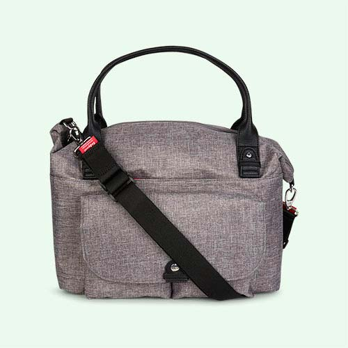 Grey Babymel Jade Changing Bag