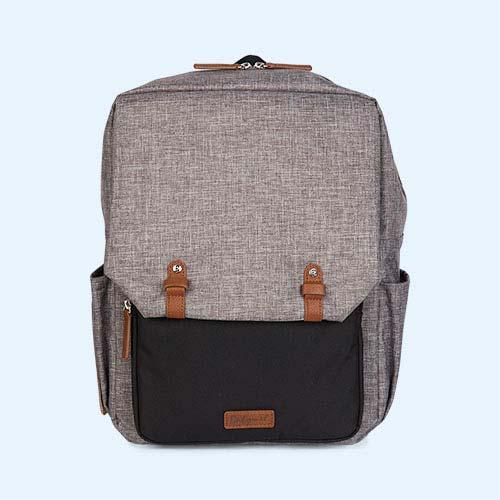 Grey Babymel George Changing Backpack