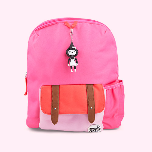 Pink Colourblock Babymel Kids 3+ Backpack