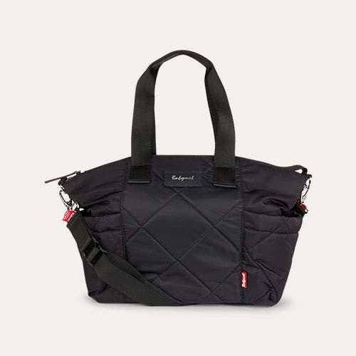 Black Babymel Evie Quilted Changing Bag