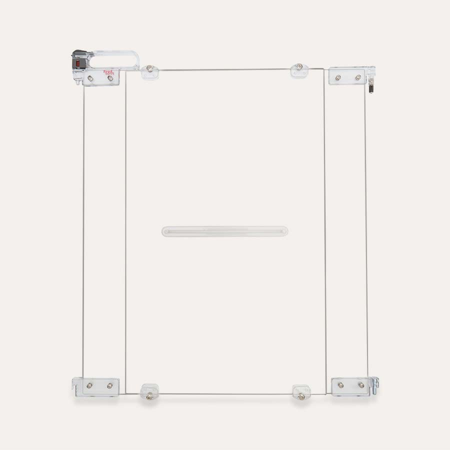 Clear Fred Safety Screw Fit Clear Stair Gate