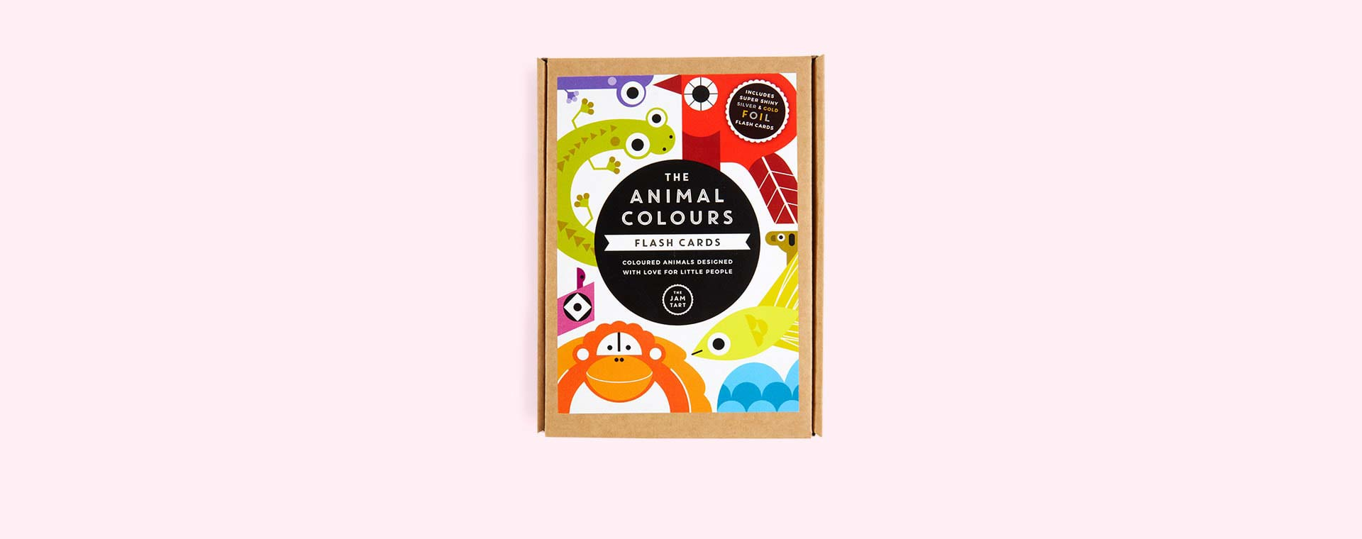 Multi The Jam Tart Animal Colours Flash Cards