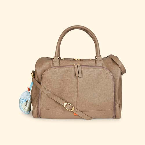 Latte Pacapod Luxury Firenze Changing Bag