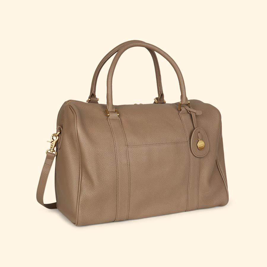 Latte Pacapod Luxury Firenze Changing Bag