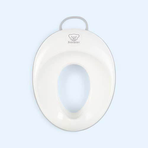 Grey BabyBjorn Toilet Training Seat