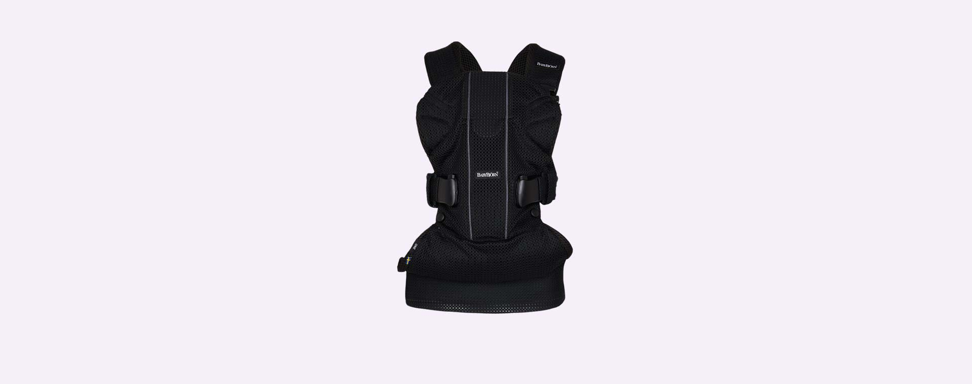 Black Mesh BabyBjorn Baby Carrier One Air 3D Mesh
