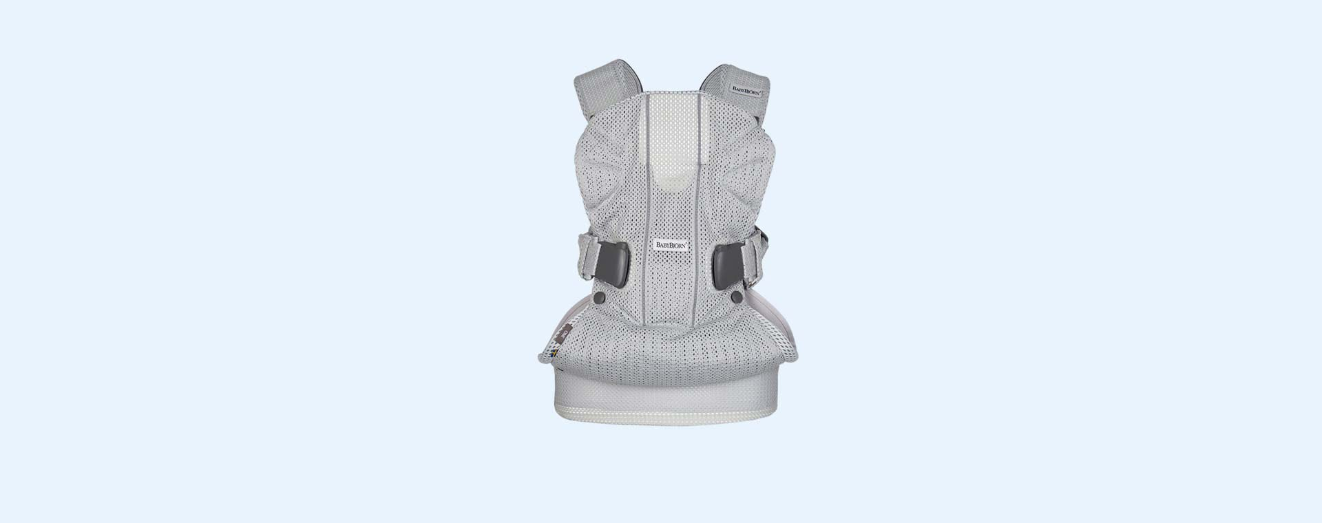 Silver Mesh BabyBjorn Baby Carrier One Air 3D Mesh