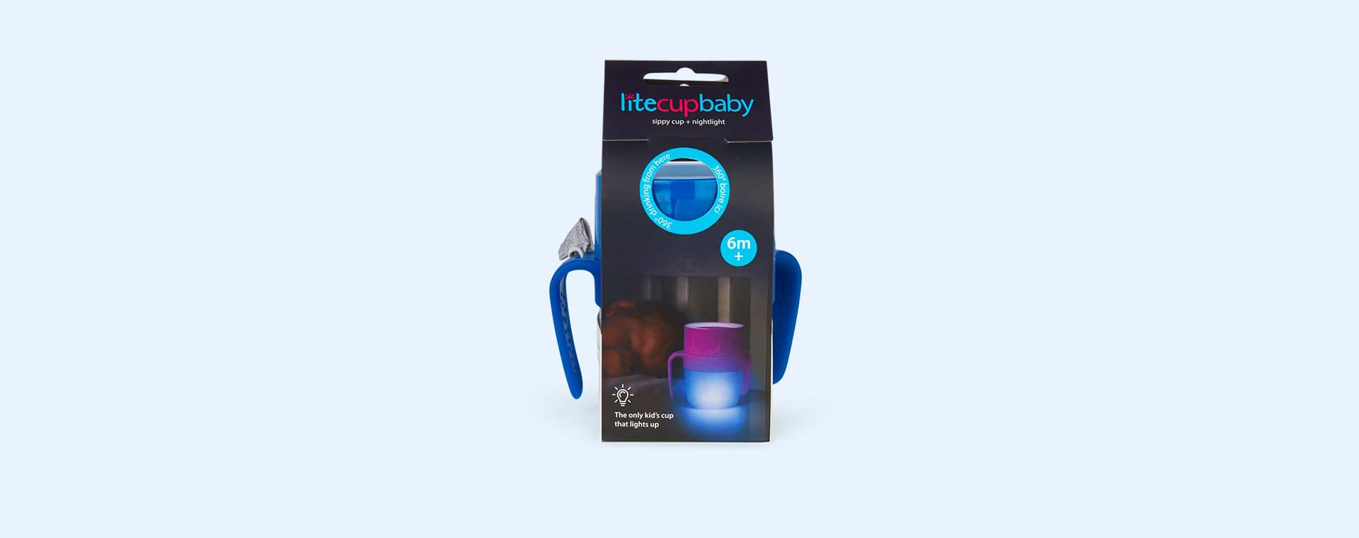 Uber Blue litecup Litecup Baby