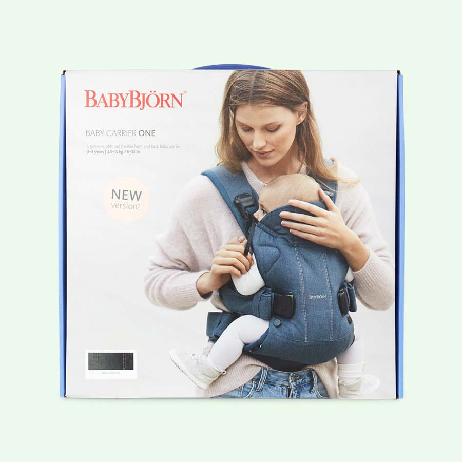 Black BabyBjorn Baby Carrier One