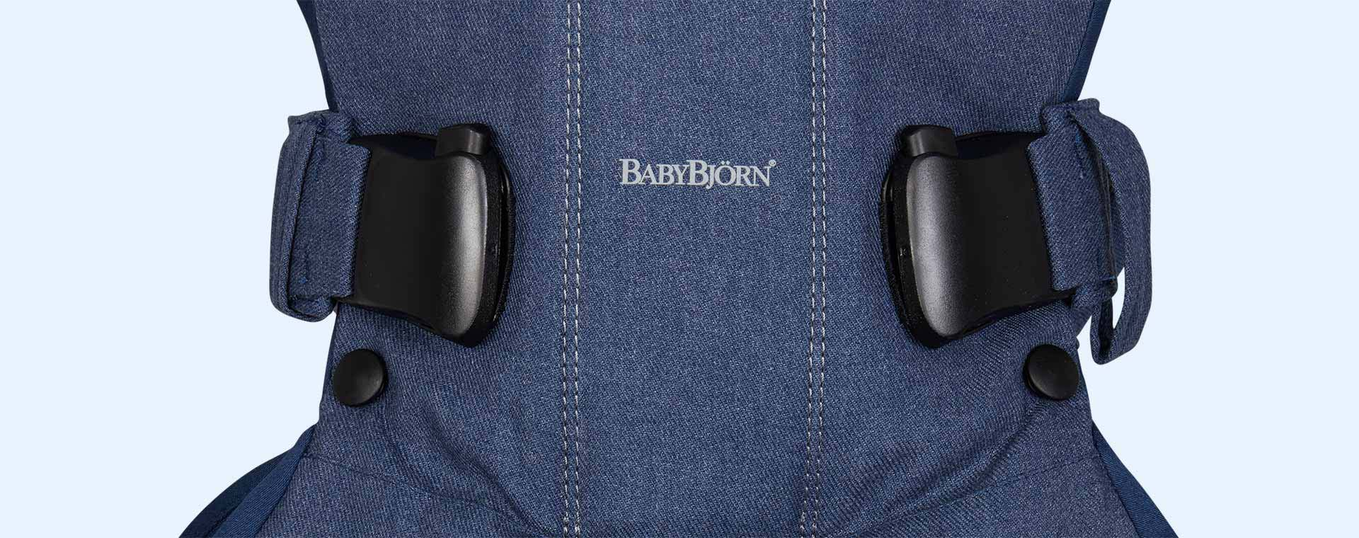 Midnight Blue BabyBjorn Baby Carrier One