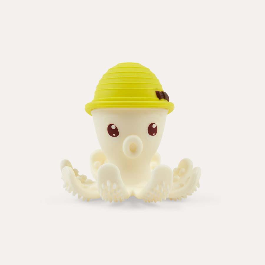 Yellow Mombella Octopus Teether