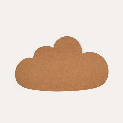 Neutral Bloomingville Cork Cloud Pin Board