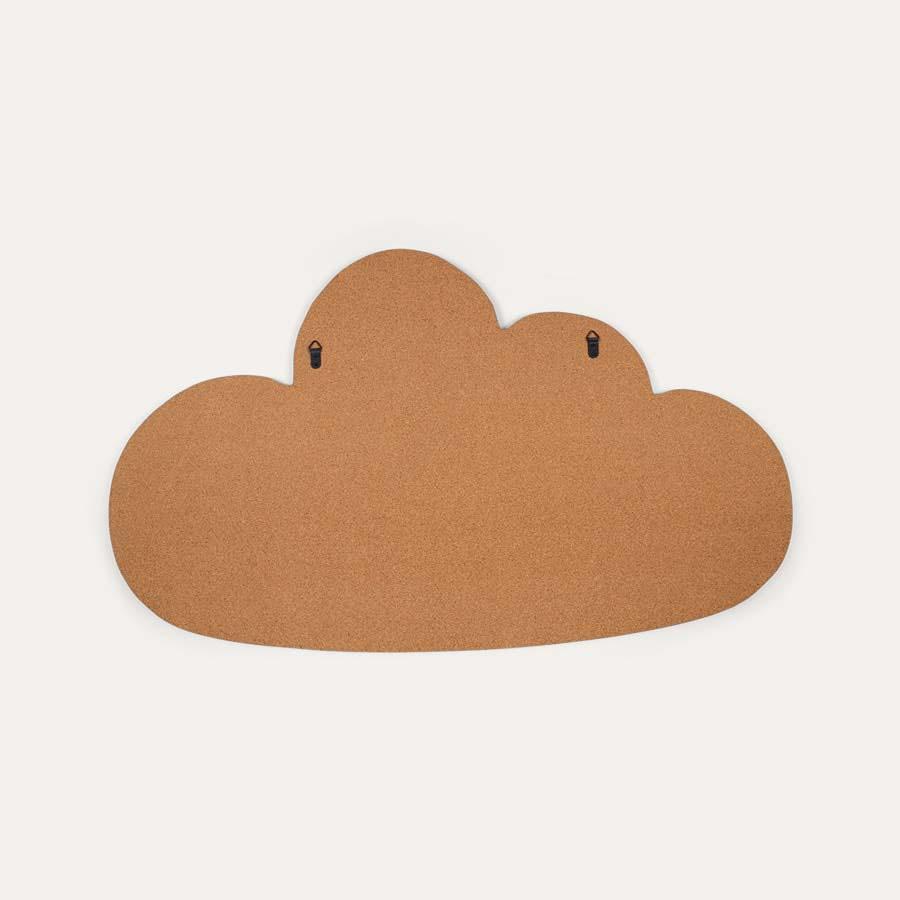 Neutral Bloomingville Cork Cloud Pin Board