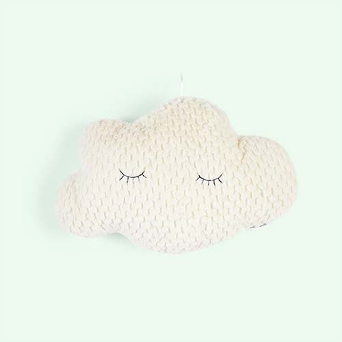 White Bloomingville Cloud Cushion