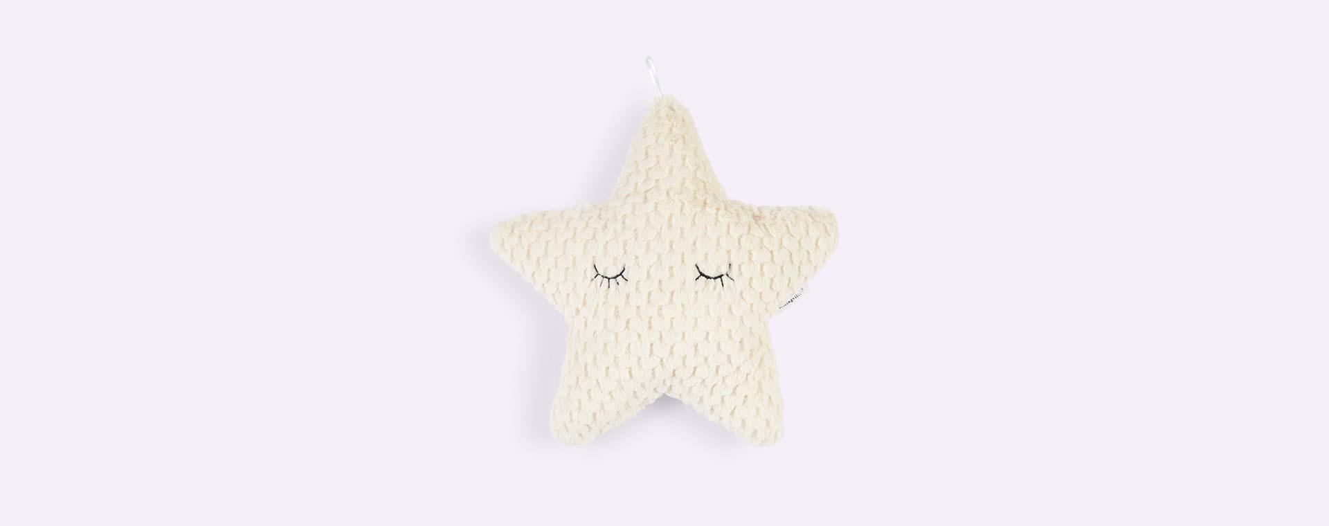Neutral Bloomingville Star Cushion