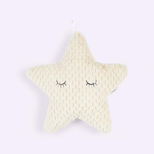 Neutral Bloomingville Star Cushion
