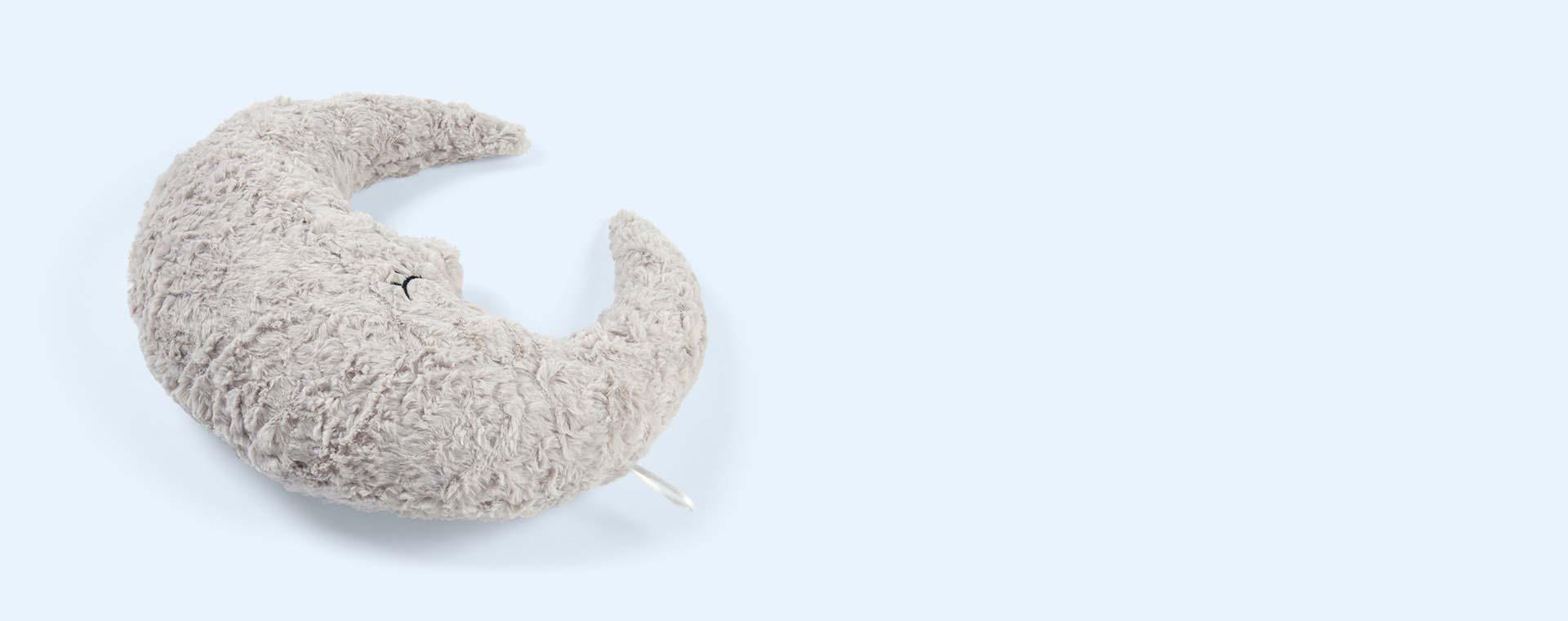 Grey Bloomingville Moon Cushion