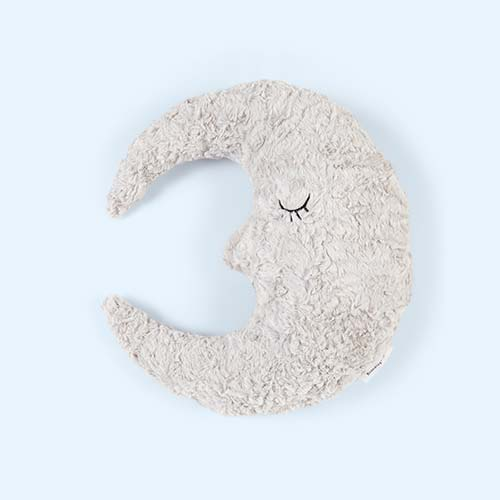 Grey Bloomingville Moon Cushion