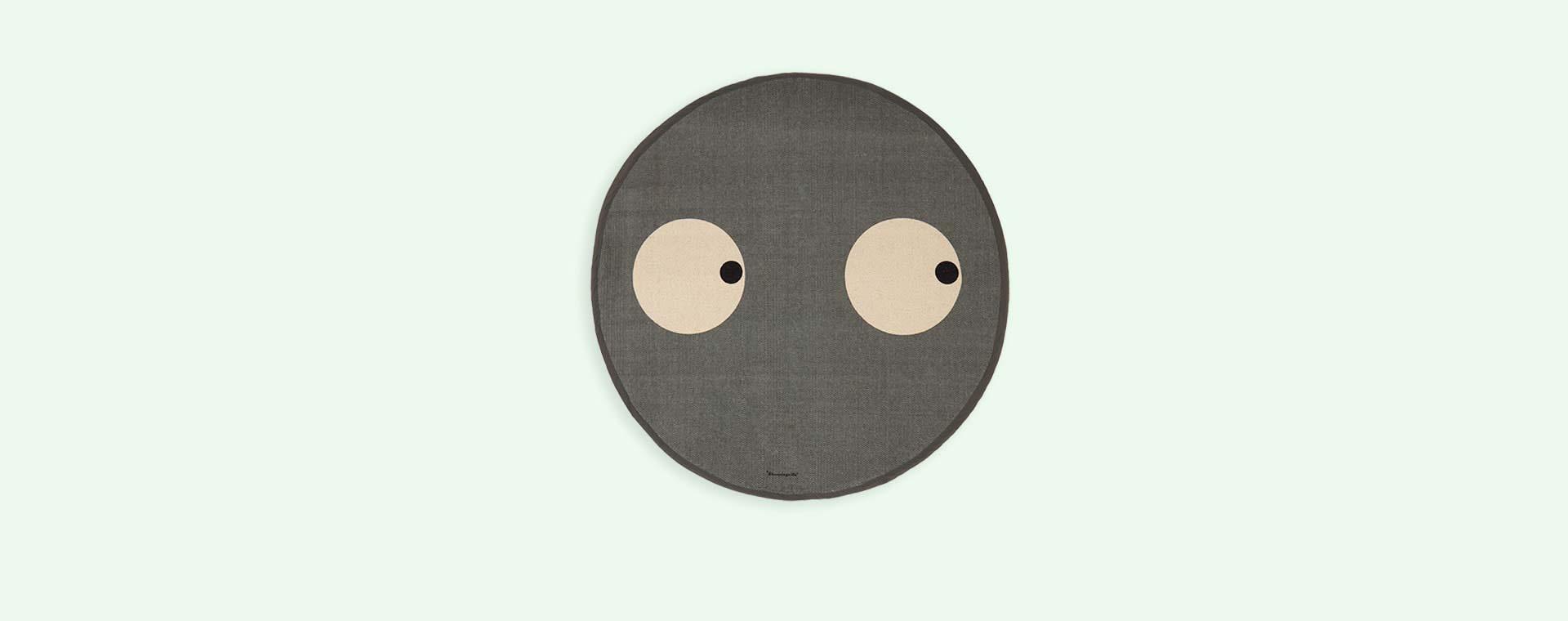 Grey Bloomingville Open Eyes Rug