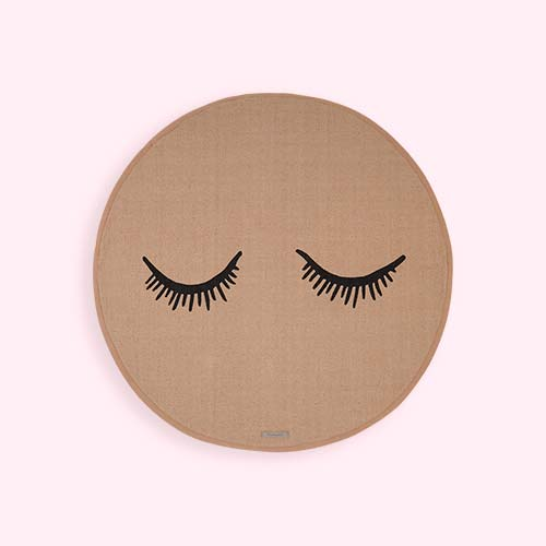 Rose Bloomingville Eyelashes Rug
