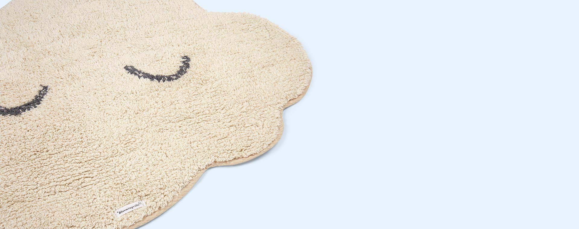 Neutral Bloomingville Cloud Rug