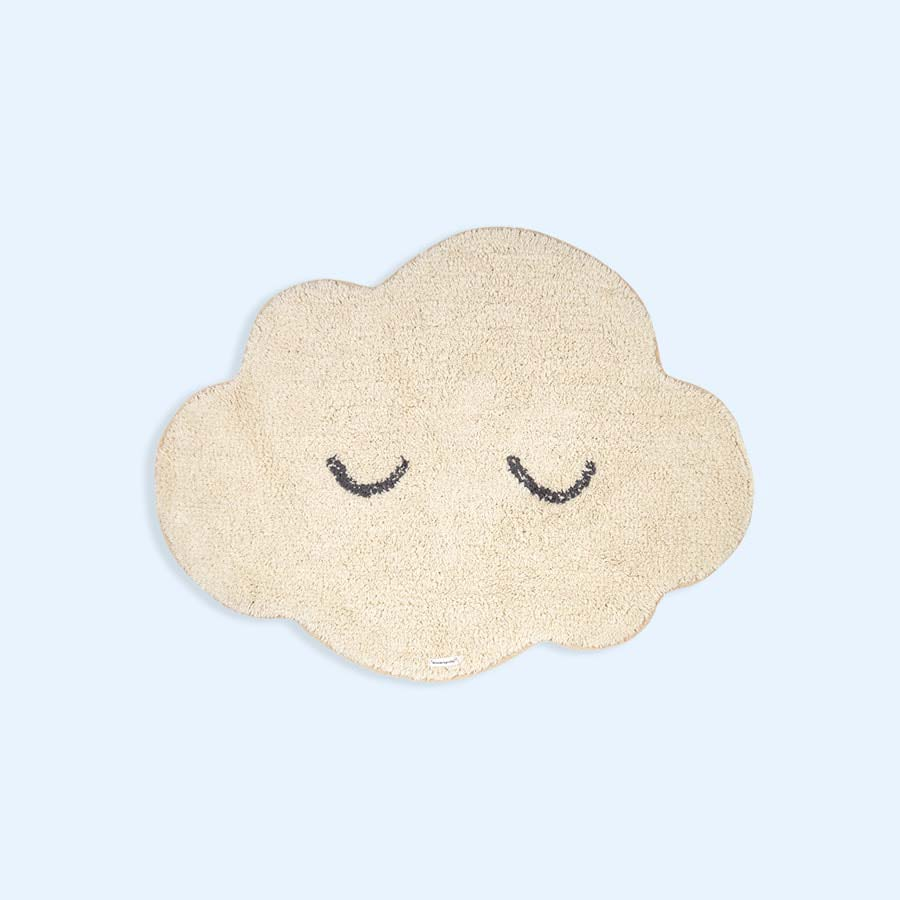 Neutral Bloomingville Cloud Rug