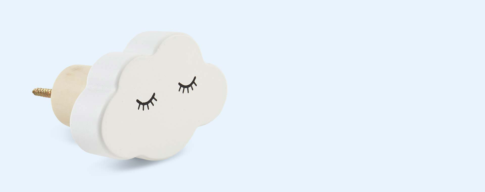 White Bloomingville Cloud Wall Hook
