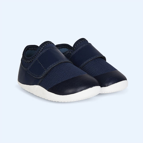 New Navy Bobux Step-Up Xplorer Lo Dimension Trainer