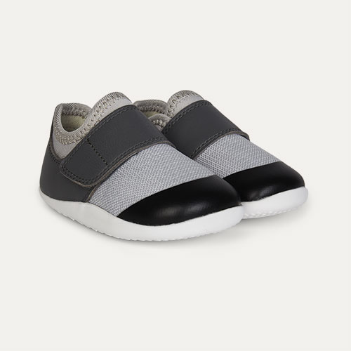 Grey Charcoal Bobux Step-Up Xplorer Lo Dimension Trainer