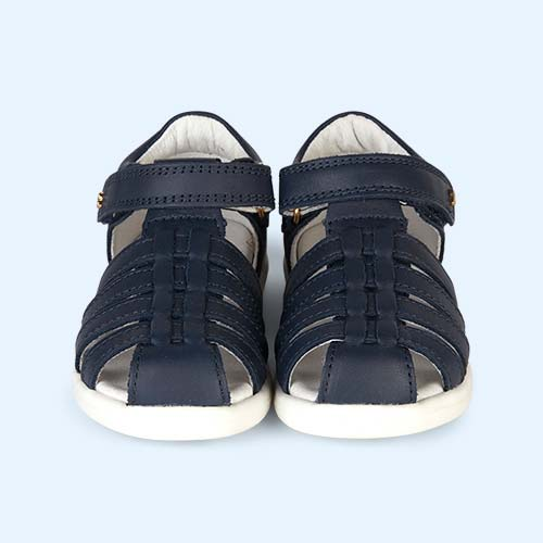 Navy Bobux I-Walk Jump Sandal