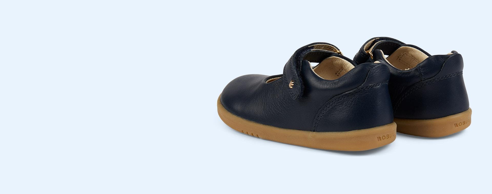 New Navy Bobux I-Walk Delight Mary Jane Shoe
