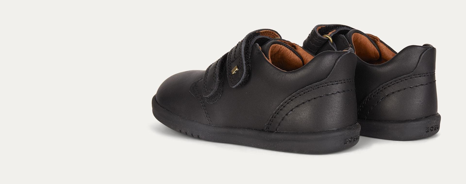 Black Bobux I-Walk Port Shoe