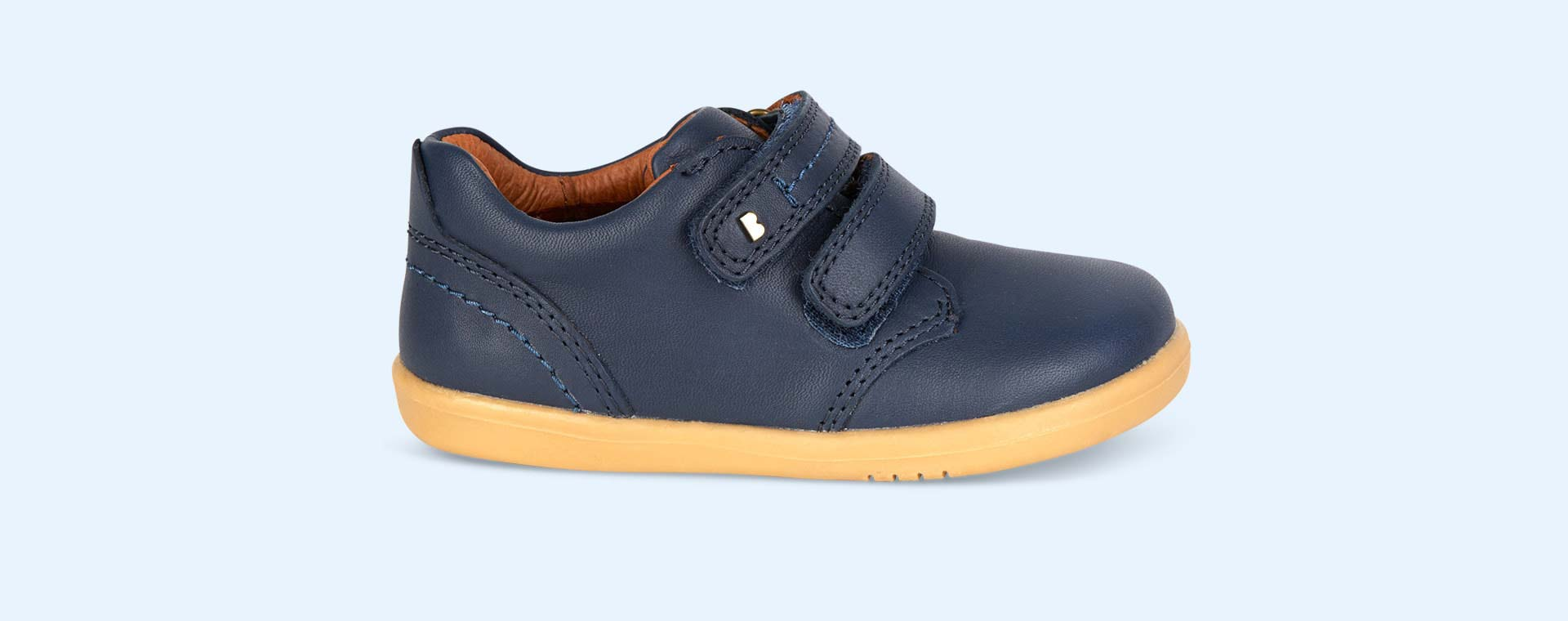 Navy Bobux I-Walk Port Shoe